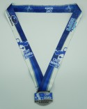 Last Chance Half Marathon Finisher Ribbon 10-13
